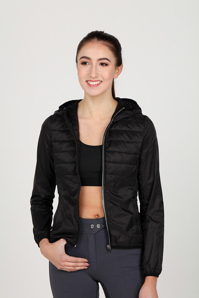 Light weight sports jacket Black