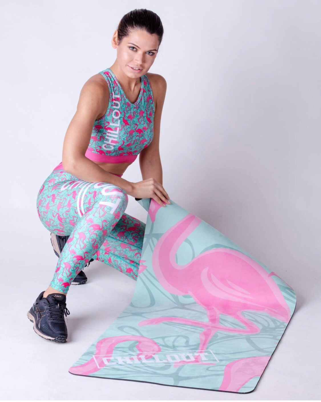 Flamingo yoga mats