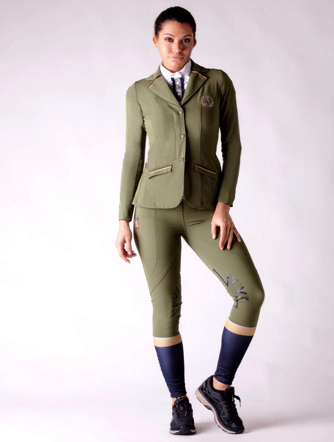 Olive technical show jacket