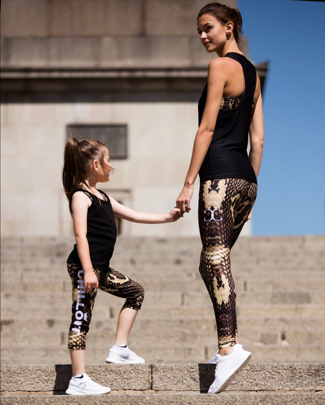 Children's snake skin leggings