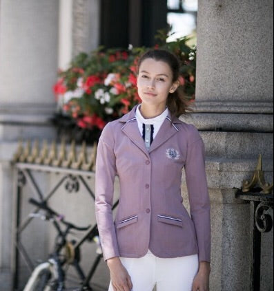 Lilac technical show jacket