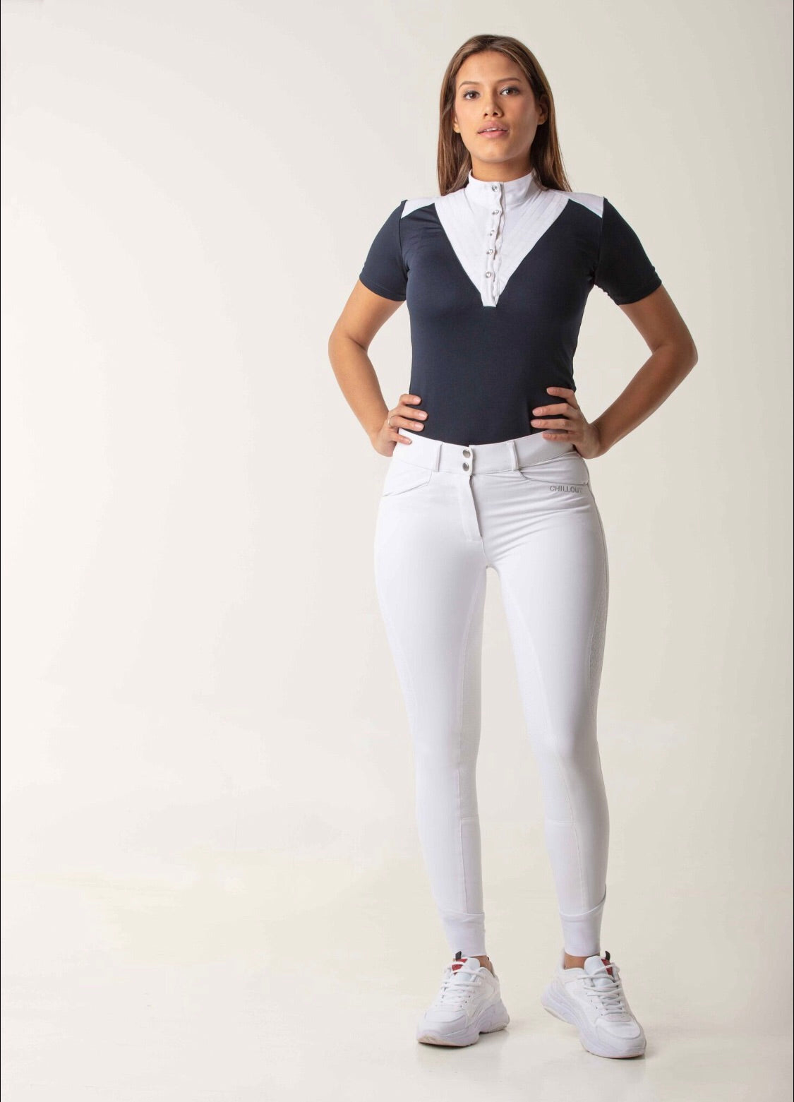 Luxure white breeches