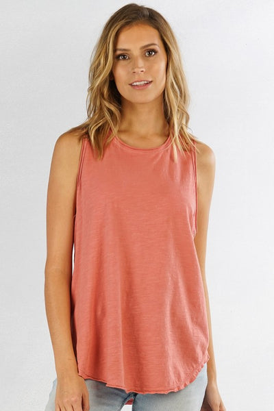 Cotton Slub Tank Top