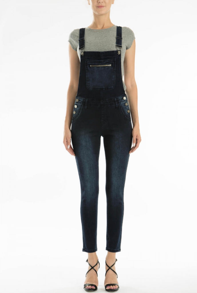 Kan Can ankle length skinny overall