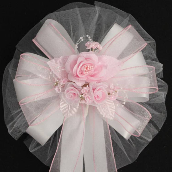 Pink Wedding Bows