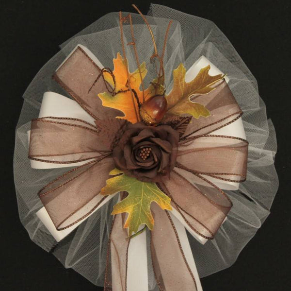 Brown Wedding Bows