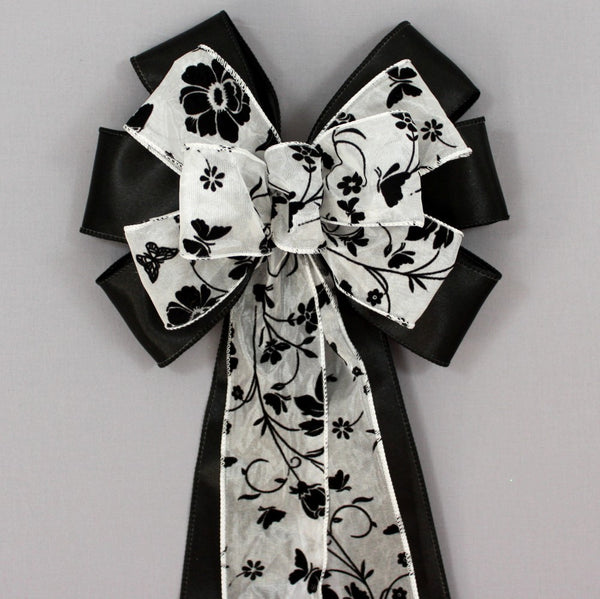 Black Wedding Bows