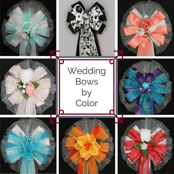 Wedding Bows by Color