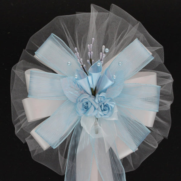 Light Blue Wedding Bows