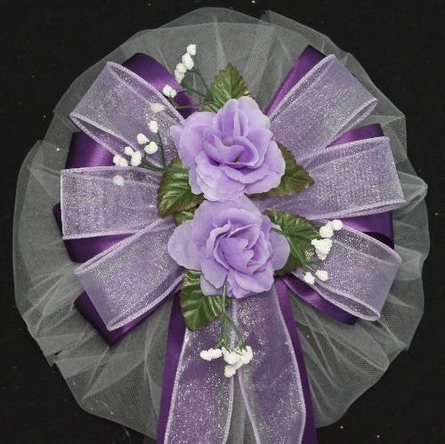 Lavender Wedding Bows