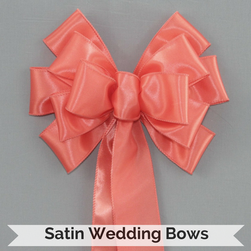 Satin Wedding Bows