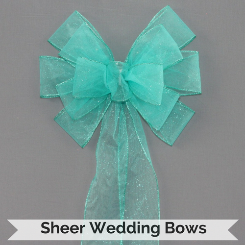 Sheer Wedding Bows