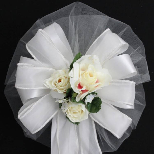 Ivory Wedding Bows