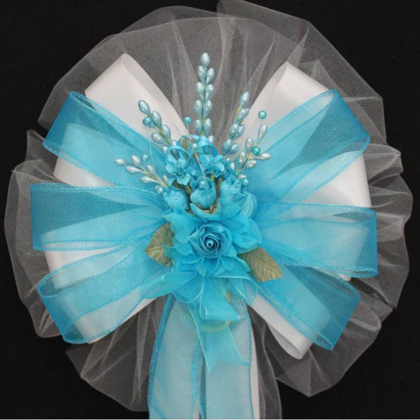 Turquoise Wedding Bows