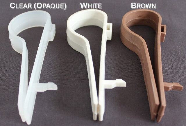 Wedding Pew Clip Color Options