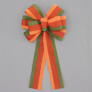 Festive Fall Rustic Wreath Bow