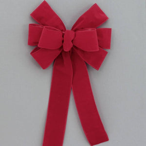 Brick Red Outdoor Christmas Bow - Package Perfect Bows - 1