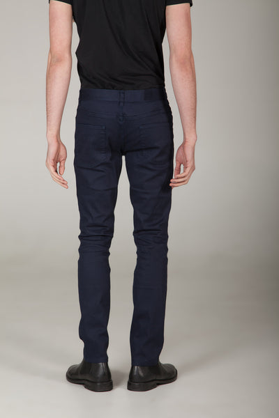 Uptown Cobalt Navy Fitted Chinos