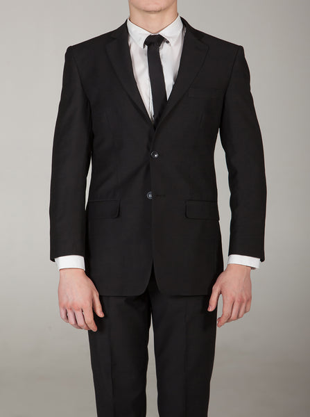 Empire Jet Black Suit