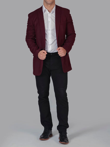 Intrepid Deep Crimson Blazer