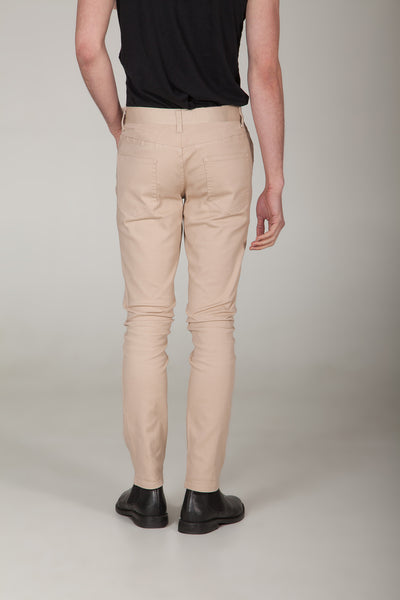 Uptown Desert Khaki Fitted Chinos