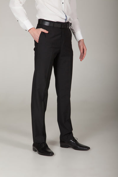 Empire Jet Black Dress Pant