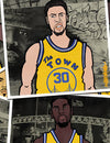 Warriors Art: Golden Record by Joe Wallace #ArtistWithACause