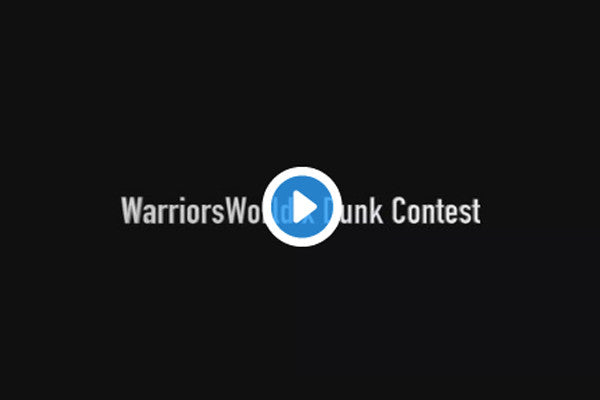 WATCH: Dunk Contest x Warriors opens its doors