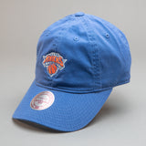 New York Knicks Self Fabric Cotton Strapback Dad Hat