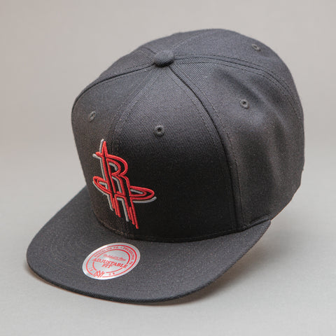 Houston Rockets Neon Lights Snapback Hat