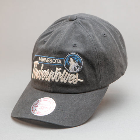 Minnesota Timberwolves Cotton Slouch Snapback Hat