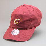 Cleveland Cavaliers Self Fabric Cotton Strapback Dad Hat