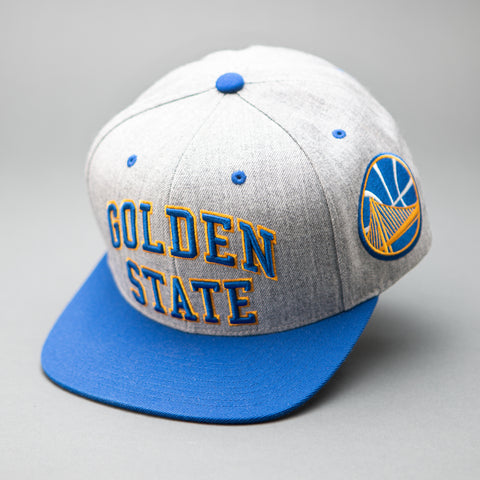 Golden State Warriors Side Panel Cropped Snapback