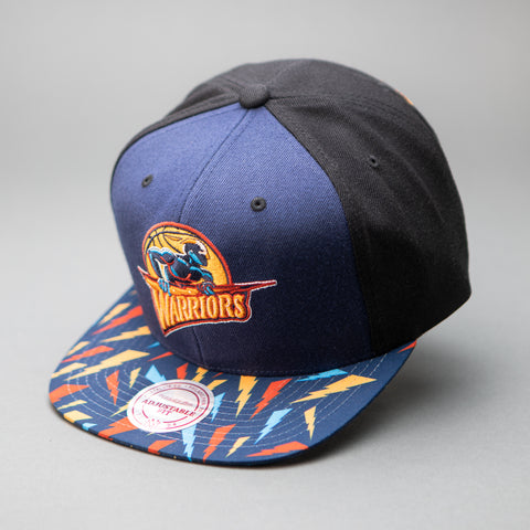 Golden State Warriors Bolt Sublimated Snapback