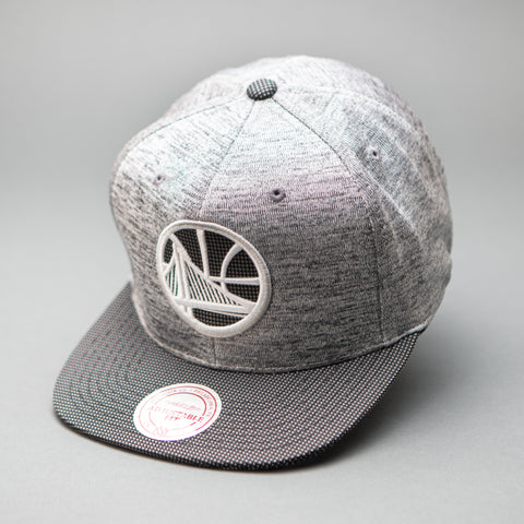 Golden State Warriors Space Knit Snapback