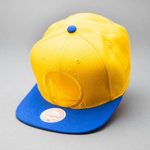 Golden State Warroiors Cropped Satin Snapback