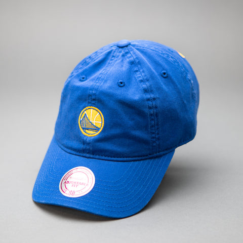 Golden State Warriors Self Fabric Cotton Strapback Dad Hat