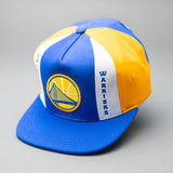 Golden State Warriors Pinwheel Snapback
