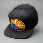 Golden State Warriors Cropped Mesh XL Snapback