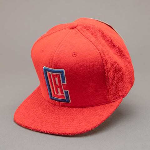 Los Angeles Clippers Tonal Texture French Terry Snapback Hat