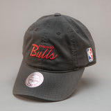 Chicago Bulls Special Script Slouch Dad Hat