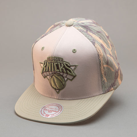 New York Knicks Camo Trucker Hat