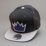 Sacramento Kings Crown 2 Tone High Crown Fitted Hat