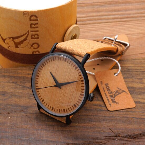 Hands Bamboo Wooden Watches