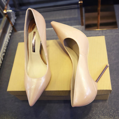 Top Quality Pearl Color Women Pumps