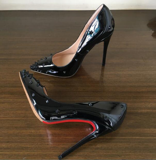 Patent Leather Women Shoes