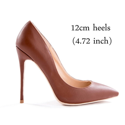 Brown Color Women Pumps