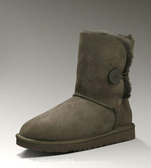 Waterproof Genuine Sheepskin Leather Snow Boots