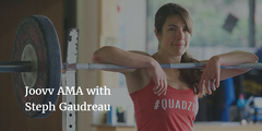 The Importance of Living by Example, How to Eliminate Digestive Problems, and You Can Never be Too Strong: Joovv AMA with Steph Gaudreau