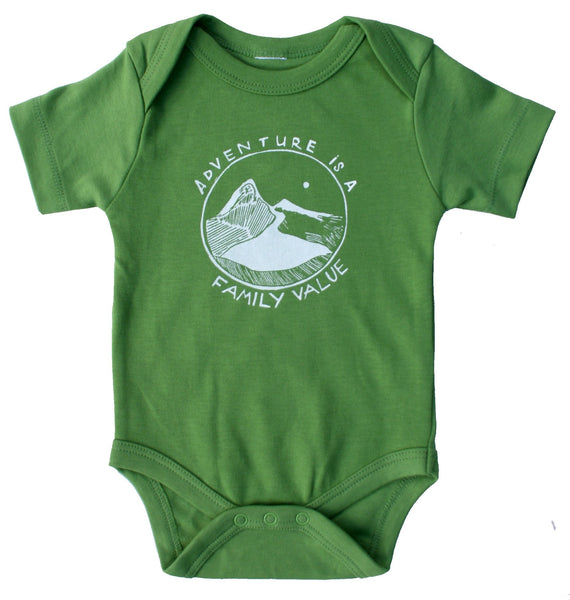 Adventure is a Family Value Onesie